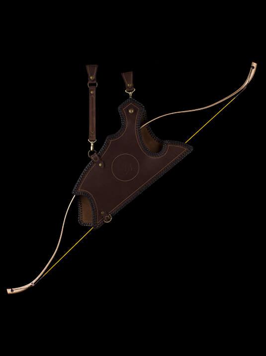 leather bowcase