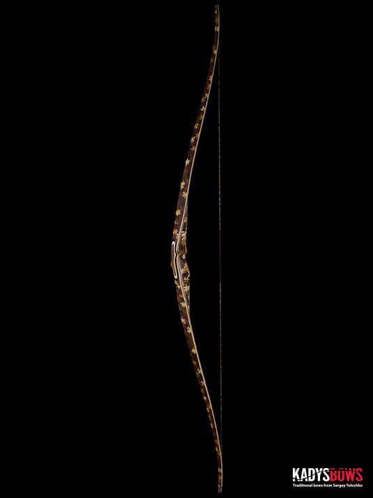 Современный традиционный длинный лук Aspid-Puzzle - traditional longbow KadysBows