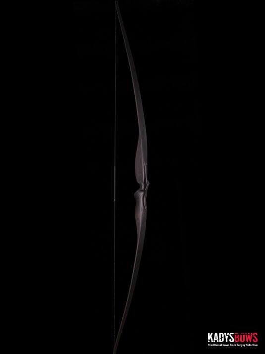 Современный традиционный длинный лук Nail - traditional longbow KadysBows