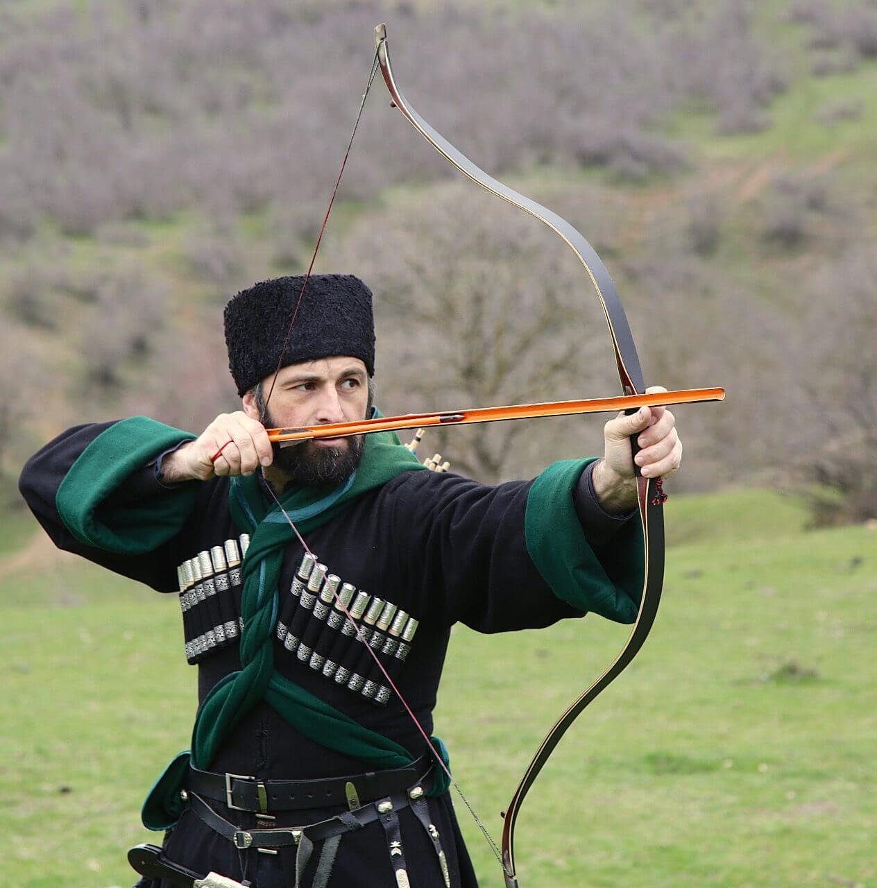 Dagestanian jigits with KadysBows bows